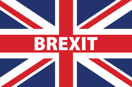 politic: United Kingdom exit from europe relative image. Brexit named politic process. Referendum theme art Illustration