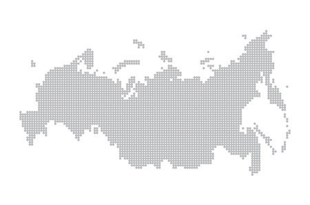 geography: map of russia. illustration geography vector cartography, art
