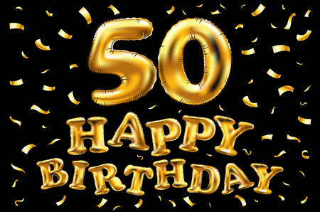 Happy 50th Birthday Stock Photos And Images