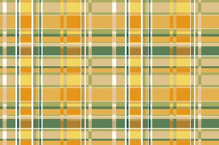 Yellow And Ocher Tartan Plaid Scottish Textile Pattern seamless vetor background