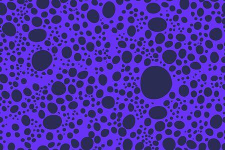 violet animal skin Seamless Pattern vector texture eps 10 illustration Leopard repeating background art