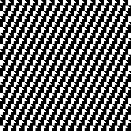 black and white optical pattern 12x12 inch Illustration