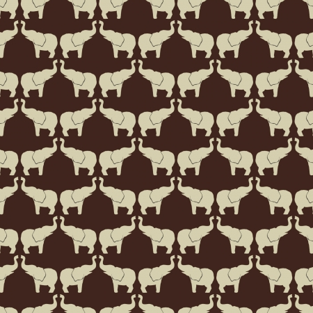 elephant pattern 12x12 inch