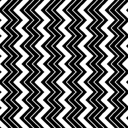 zig-zag pattern seamless monochrome black and white 12x12inch silhouette cameo ready
