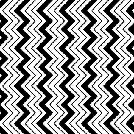 zig-zag pattern seamless monochrome black and white 12x12inch silhouette cameo ready