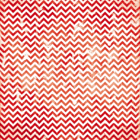 chevron red damaged fabric seamless pattern 12x12 inch Stock Photo - 21494443
