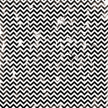 chevron monochrome black and white damaged fabric seamless pattern 12x12 inch photo