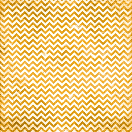 orange chevron pattern Stock Photo