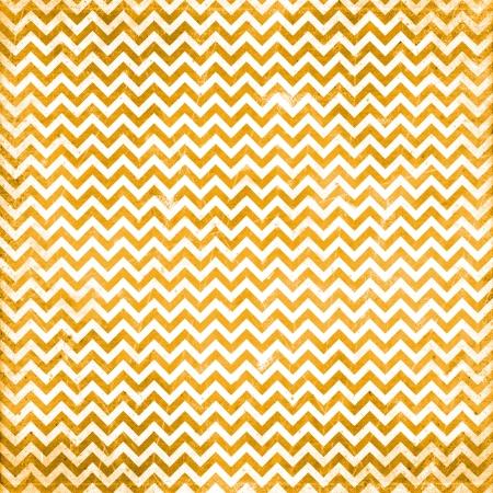 orange chevron pattern Stock Photo