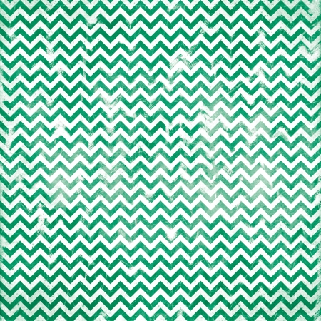 chevron grunge green pattern