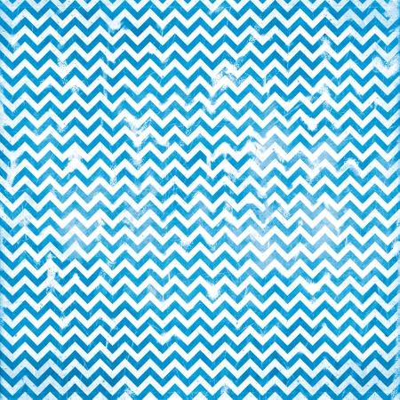 chevron grunge blue pattern Stock Photo