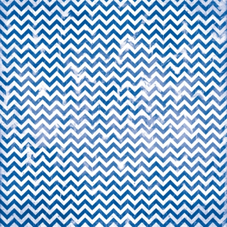 chevron grunge blue pattern Stock Photo