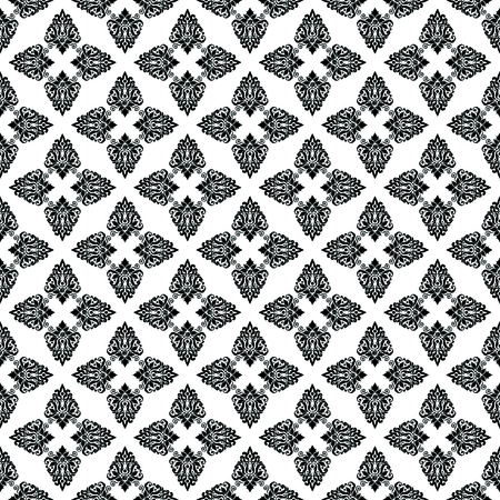 damask fabric pattern Stock Photo