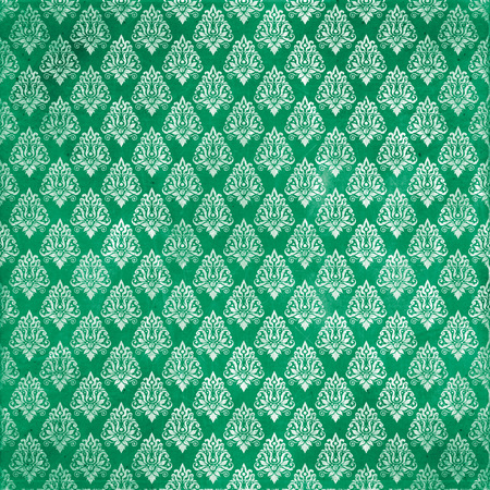 damask damaged fabric pattern Stock Photo