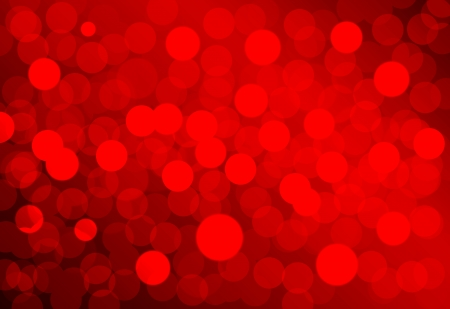 Christmas Lights background, red, useful as card, greetings, background, hi res print, screen backgound, label Stock Photo
