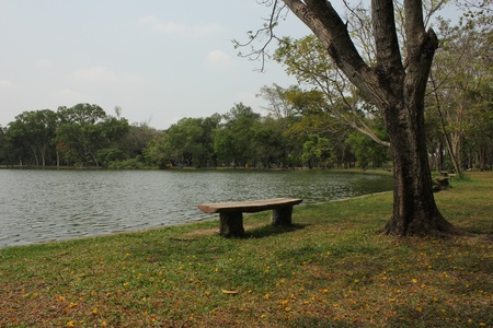 public park: Parque p�blico, Tailandia