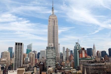 NEW YORK - 6. října Empire State Building dne 6. října 2012 ve New Yorku Empire State Building je 102-příběh mezník a americké kulturní ikona v New Yorku