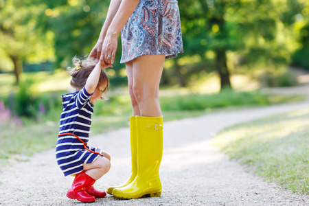 Maman a de longues jambes