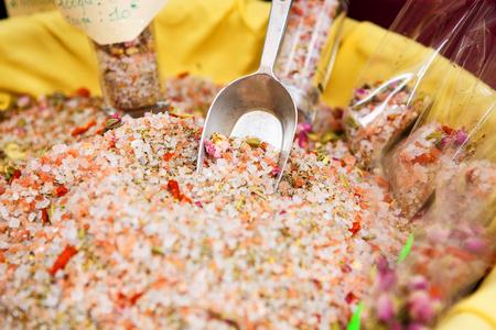 sel: Pink Sea Salt - Fleur De Sel for selling. Provence, France.