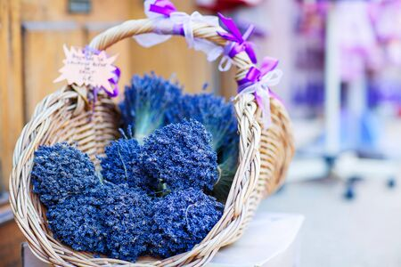 vaucluse: Shop in Provence decorated with lavender and vintage things