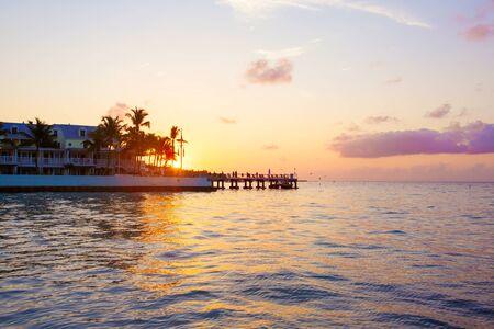 key west: Beautiful sunrise on Key West, Florida, USA