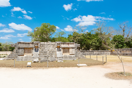 Temple of Kukulkan in Chichen Itza, Yucatan, Mexico