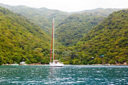 ビーチとトロピカル リゾート、Labadee 島、ハイチ。