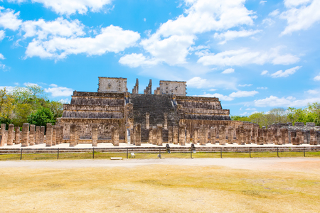 Temple of Kukulkan in Chichen Itza, Yucatan, Mexico Stock Photo - 87601469