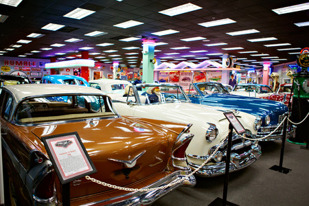 Miami Auto Museum exhibits a collection of vintage and cinema au