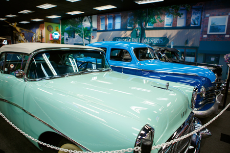 Miami Auto Museum exhibits a collection of vintage and cinema automobiles, bicycles and motorcycles