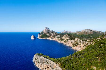 Panorama view of Cap de Formentor - wild coast of Mallorca, Spain