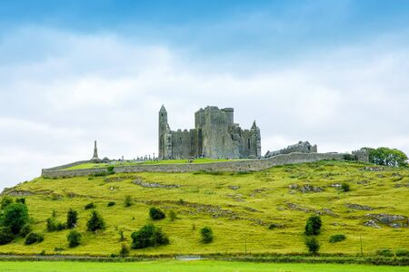 The Rock of Cashel. Irish Cashel of the Kings and St. Patricks Rock, a historic site located at Cashel, County Tipperary.