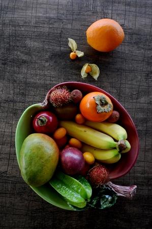 basket: fruit basket