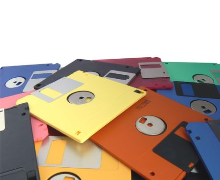 Magnetic floppy disk  photo