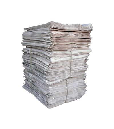 Big pile of the newspapers  photo
