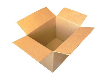 Old cardboard box  Stock Photo - 3795958