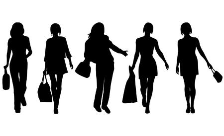 Fashion women vector Stock Vector - 4042274