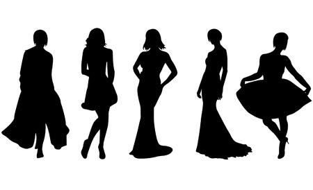 Fashion women vector Stock Vector - 4042268