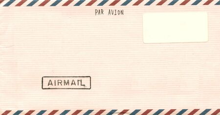 Vintage airmail envelope for you design Stock Photo - 4315634