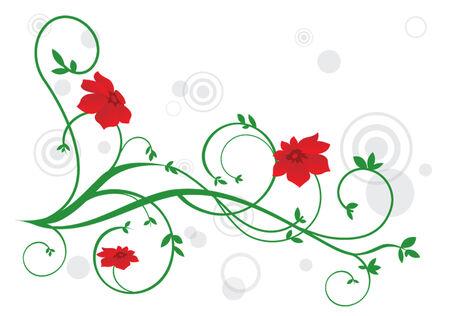 Spring ornament Stock Vector - 5374743