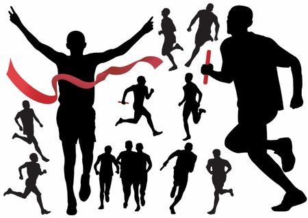 Runner. Vector illustration for you design Stock Vector - 5553695