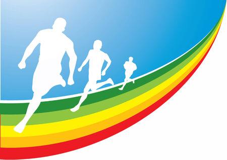 pista de atletismo: Corredor