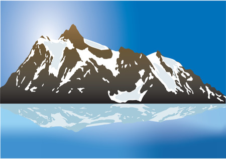 Bergen Vector Illustratie