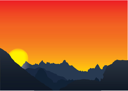 Mountains Stock Vector - 6011044