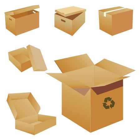 closed box: Cardboard Boxes