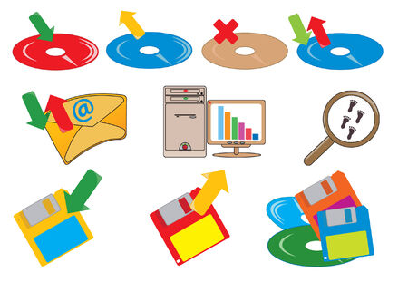 Computer icons. illustration for you design Vector