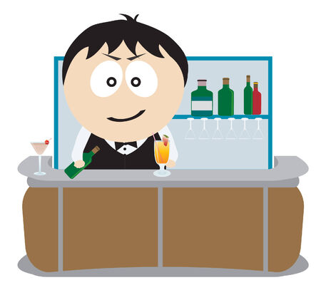 counter service: Barman.