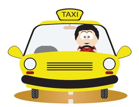 taxi: Conductor de taxi.