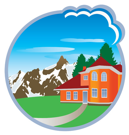 House. Vector illustration  Stock Vector - 8604780