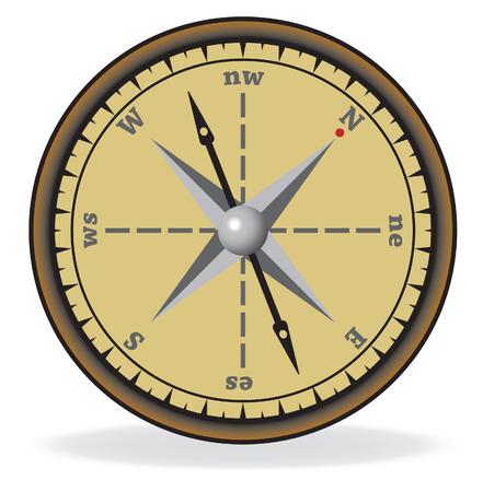 Compass.  Stock Vector - 9057770